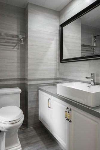 140平米四室四厅美式风格卫生间设计图