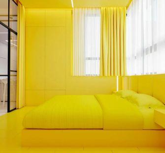 70平米公寓混搭风格卧室图片大全