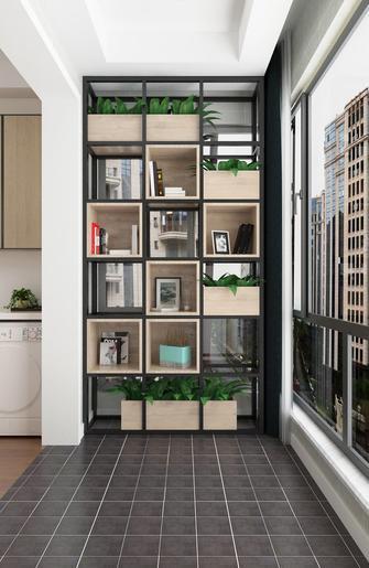 120平米三室一厅混搭风格阳台图片