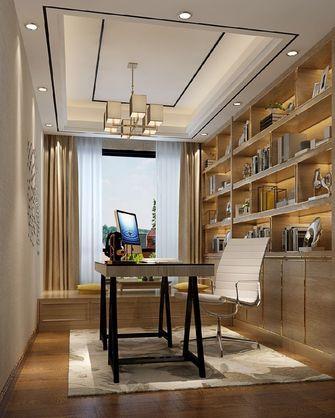 120平米三现代简约风格书房图片大全
