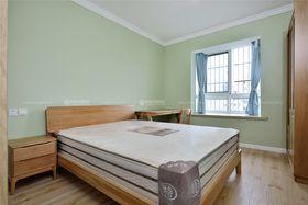 80平米三室两厅田园风格卧室装修效果图