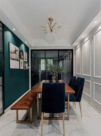 100平米三室两厅美式风格餐厅欣赏图