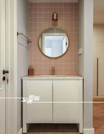 80平米三室三厅日式风格卫生间效果图