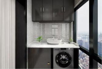 60平米公寓中式风格阳台装修图片大全