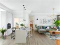 80平米一室一厅宜家风格餐厅装修案例