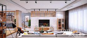140平米別墅北歐風格客廳欣賞圖
