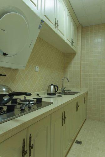 80平米公寓法式风格厨房图片
