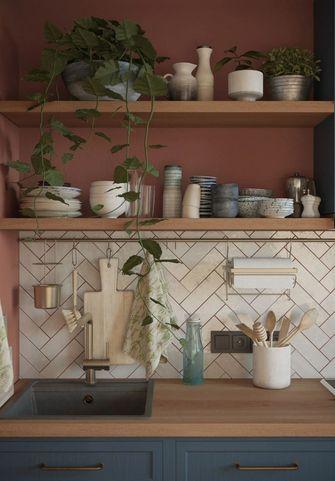 50平米一居室宜家风格厨房装修图片大全