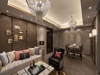 120平米三室一厅新古典风格客厅图片大全