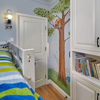 120平米英伦风格儿童房装修效果图