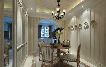 90平米三室两厅田园风格餐厅装修图片大全