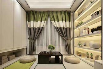 100平米三室一厅日式风格书房图片大全