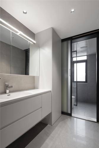 富裕型130平米三室一厅现代简约风格卫生间装修图片大全
