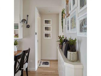 120平米三室一厅田园风格走廊装修效果图