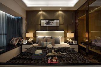 140平米三室两厅现代简约风格卧室背景墙装修案例
