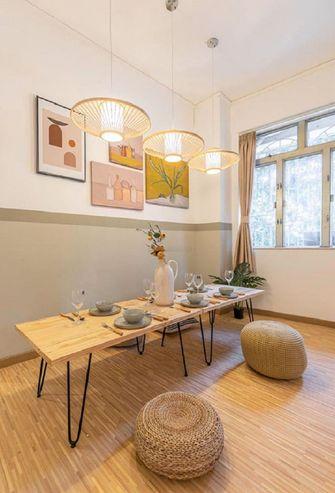 60平米三室一厅田园风格客厅效果图