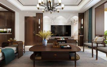 90平米中式风格客厅装修图片大全