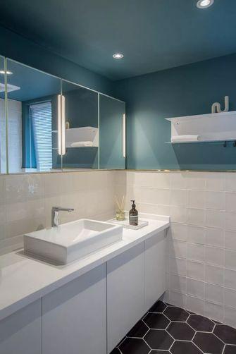 70平米三室一厅北欧风格卫生间效果图