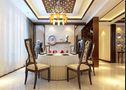 20万以上140平米三室四厅中式风格餐厅装修案例