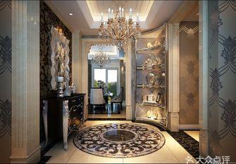 140平米四室三厅新古典风格玄关装修图片大全