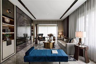 90平米复式中式风格客厅设计图
