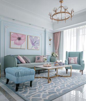 70平米美式风格客厅设计图