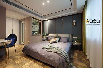 70平米三室三厅中式风格卧室图片大全