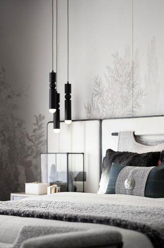 140平米复式英伦风格卧室欣赏图