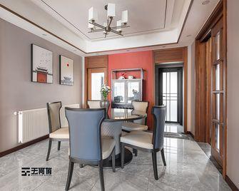 140平米三室两厅中式风格餐厅图片