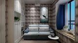 120平米复式地中海风格客厅欣赏图