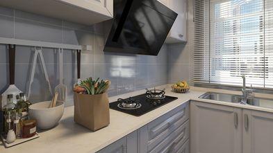 60平米田园风格厨房图片