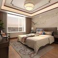 140平米三室两厅中式风格阳光房图片