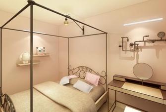 100平米公寓现代简约风格卧室装修案例