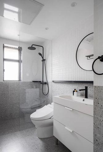 130平米三室一厅北欧风格卫生间装修图片大全