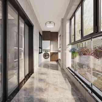 120平米四室两厅中式风格阳台装修案例