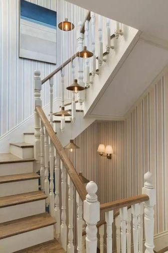 豪华型140平米别墅地中海风格楼梯图片大全