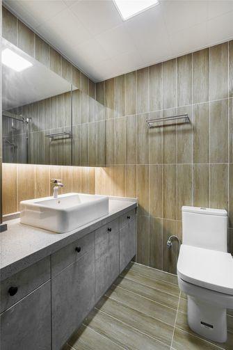 90平米三室三厅北欧风格卫生间设计图