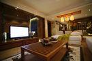 110平米东南亚风格客厅图