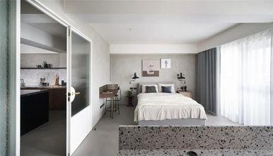 110平米一居室现代简约风格卧室设计图