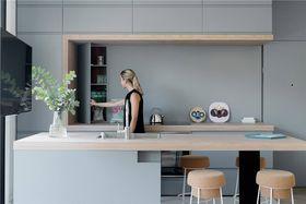 110平米四室兩廳現代簡約風格餐廳圖