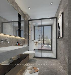 130平米四室兩廳現代簡約風格衛生間裝修圖片大全