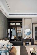 100平米三室两厅中式风格衣帽间图片
