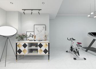 140平米四室两厅现代简约风格健身室装修案例