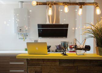 经济型110平米三室一厅混搭风格厨房装修效果图