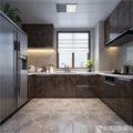 120平米四现代简约风格厨房设计图