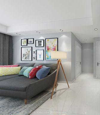110平米三室一厅北欧风格客厅效果图