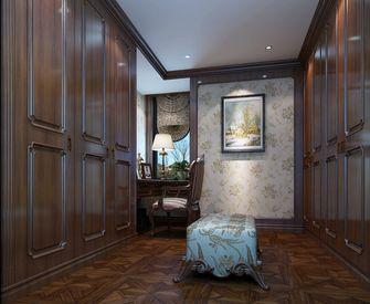 140平米别墅东南亚风格衣帽间设计图