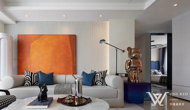140平米混搭风格客厅效果图