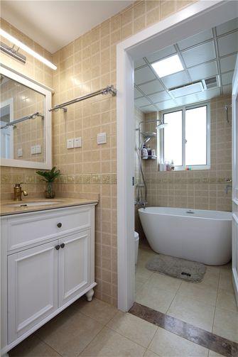 110平米三室一厅欧式风格卫生间装修图片大全
