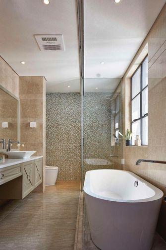 140平米三室两厅东南亚风格卫生间装修案例